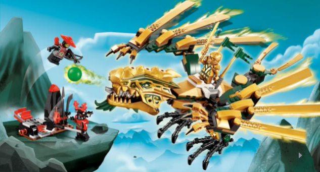 Lego il dragone d 39 oro the golden dragon 70503 ninjago 2y30abe6 altro in preciolandia - Ninjago dragon d or ...